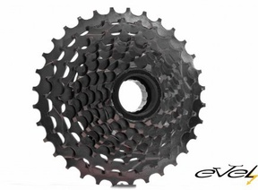 Freewheel 9 sprockets 11t (a cassette with a ratchet)